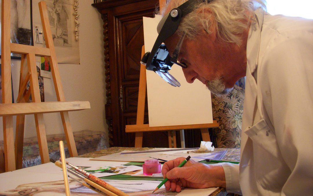Jean Pierre Rémaut, de l'atelier au Verde Nero