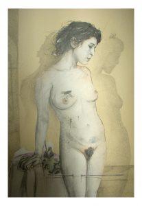 la Passion de Pauline, dessin de Jean Pierre Rémaut