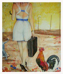 DETAIL 2 , dessin de Jean Pierre Rémaut