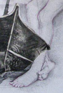 Luisia detail 2, dessin de Jean pierre Rémaut