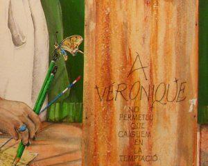 détail veronique 3, dessin de Jean Pierre Rémaut
